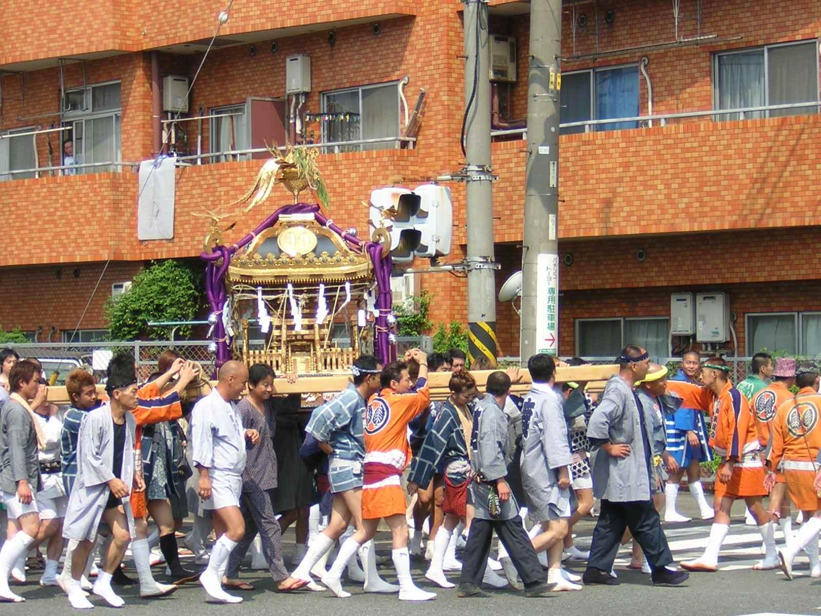 生麦の祭り