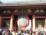 東京散歩-浅草雷門